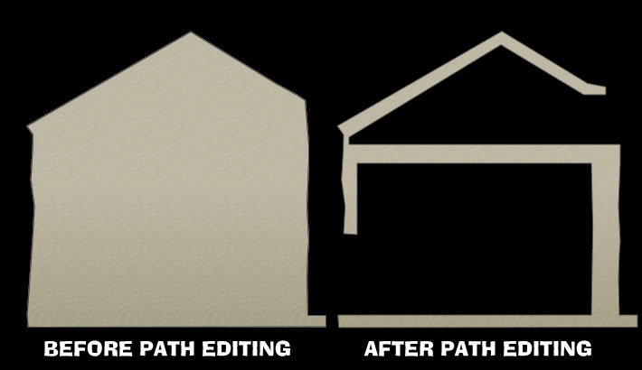 Before and After Path Editing
